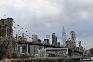 Janes Carousel under the Brooklyn Bridge