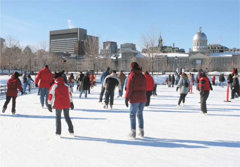 Montreal Winter Iceskating 2