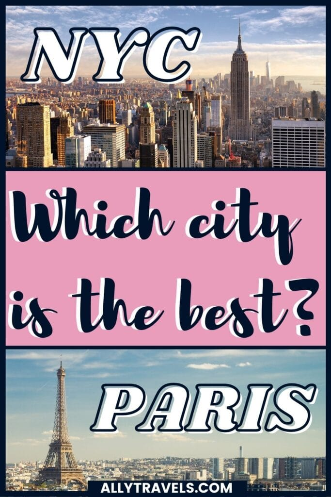 Paris vs New York: Which is the Greater Megacity?