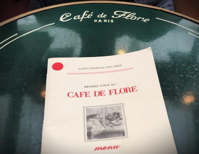 Cafe de Flore Paris vs New York
