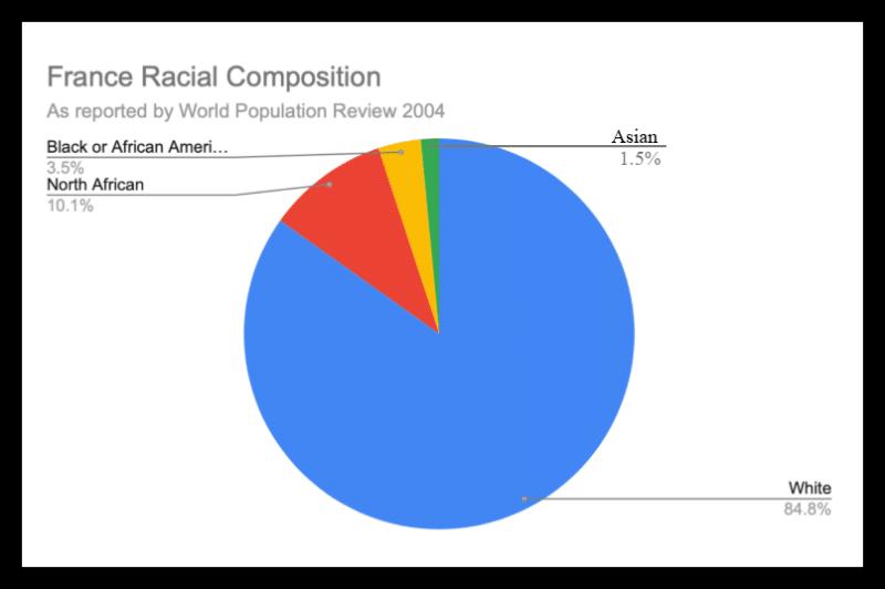 France Racial Composition 3 1