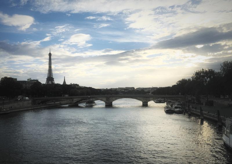 PARIS EIFFEL TOWER SEINE
