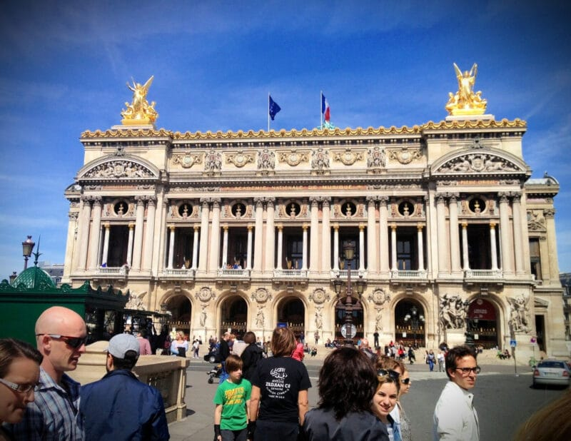 garnier opera house Paris vs New York 1