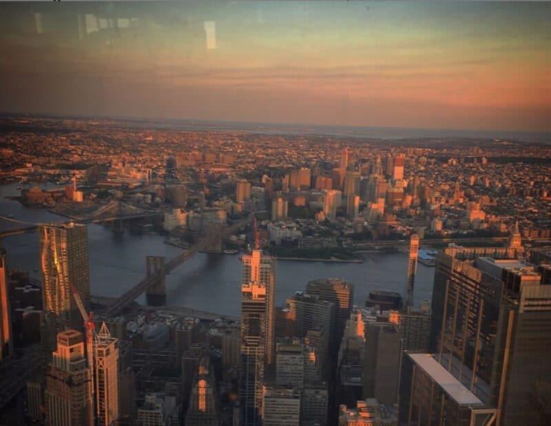 NYC ONE WORLD TRADE SUNSET