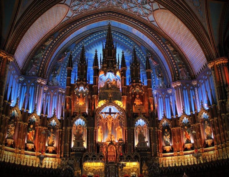 Notre Dame Basilica of Montrealg