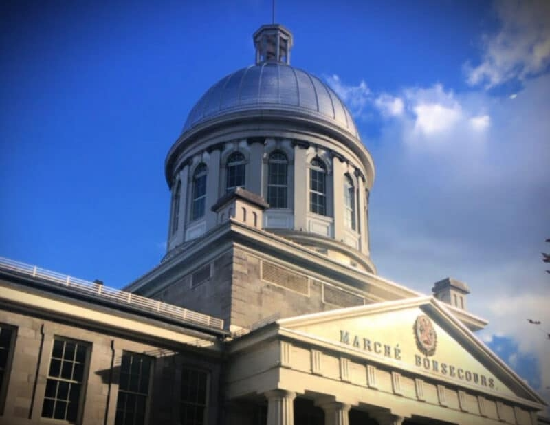 The Marché Bonsecours montreal
