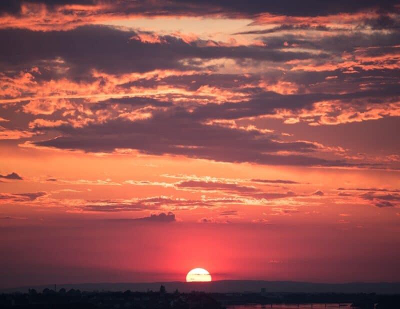 basic sunset