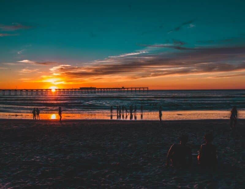 beach sunset 7
