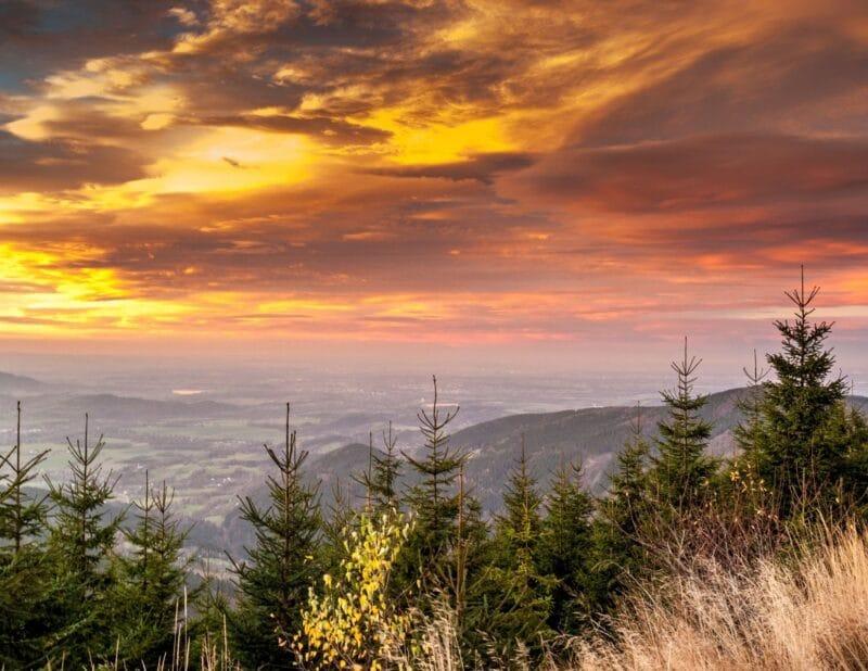 mount sunset