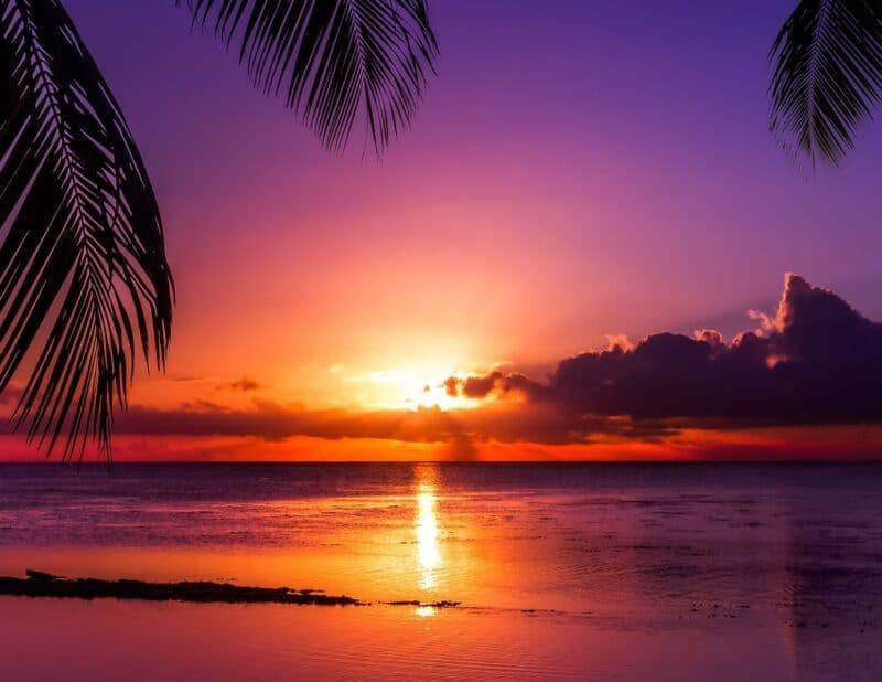 sunset beach 3