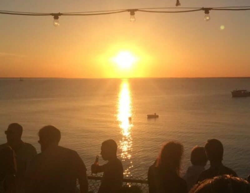 sunset montauk