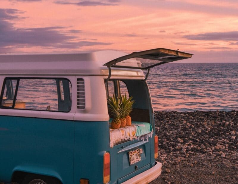 vw sunset beach