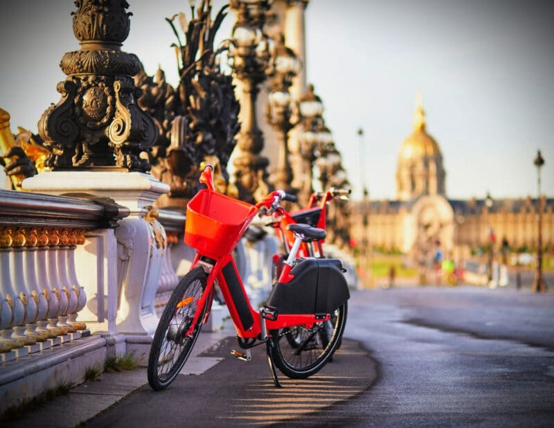 bike in paris