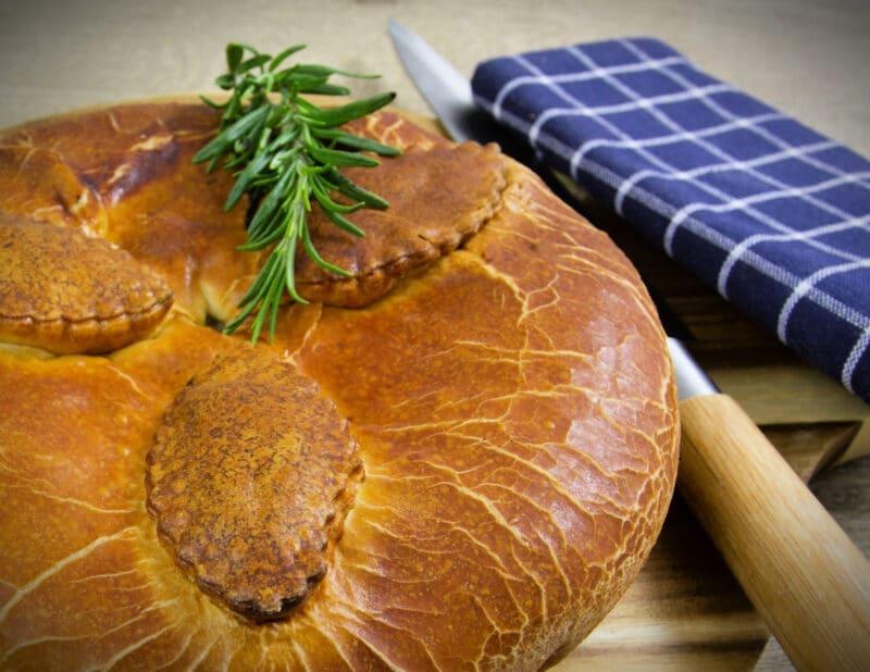 dinner meat pie london