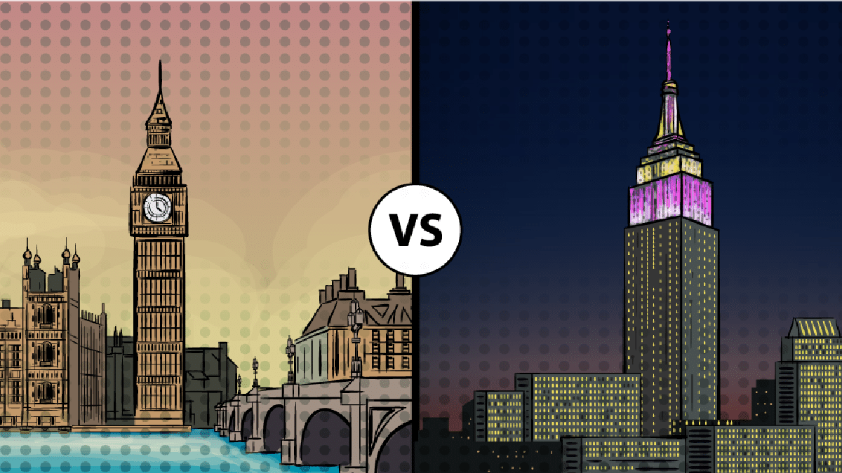 London vs New York: Which is the More Iconic City?