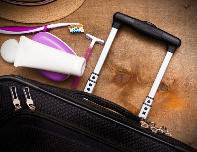 suitcase toothbrush