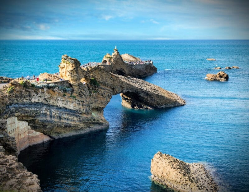 Biarritz Rock of the Virgin Mary France