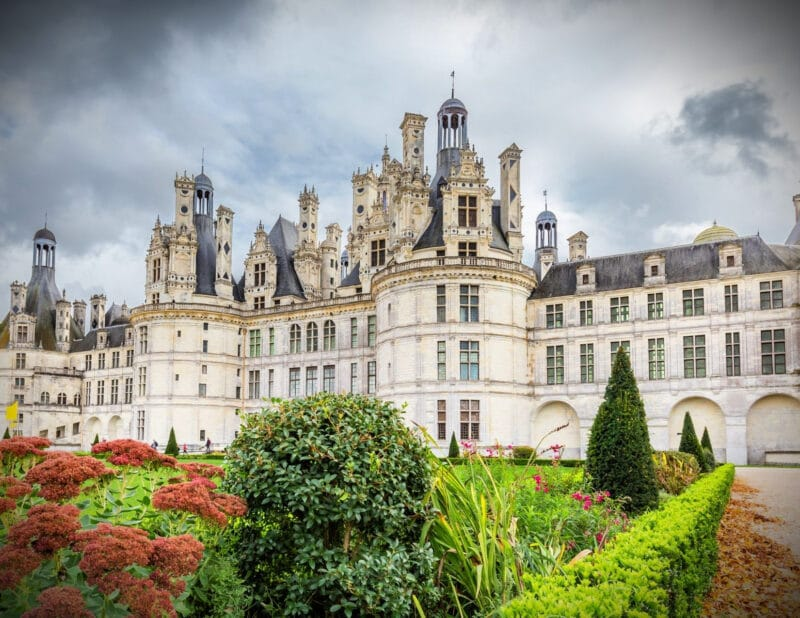 Loire Valley France Chateau