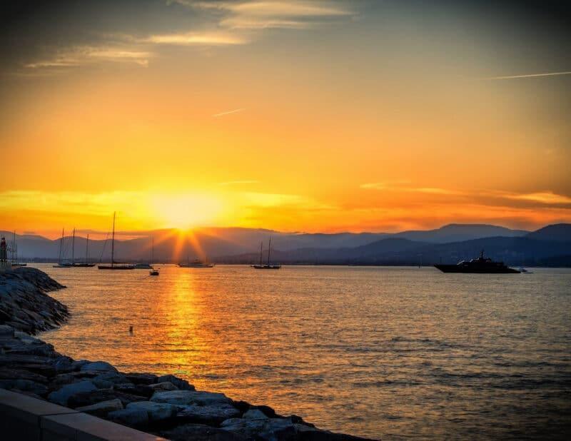St. Tropez France Sunset