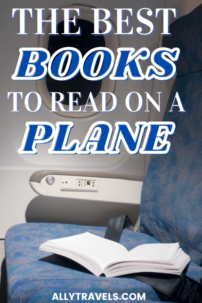 AIRPLANE SEAT WITH AN OPEN BOOK IN IT