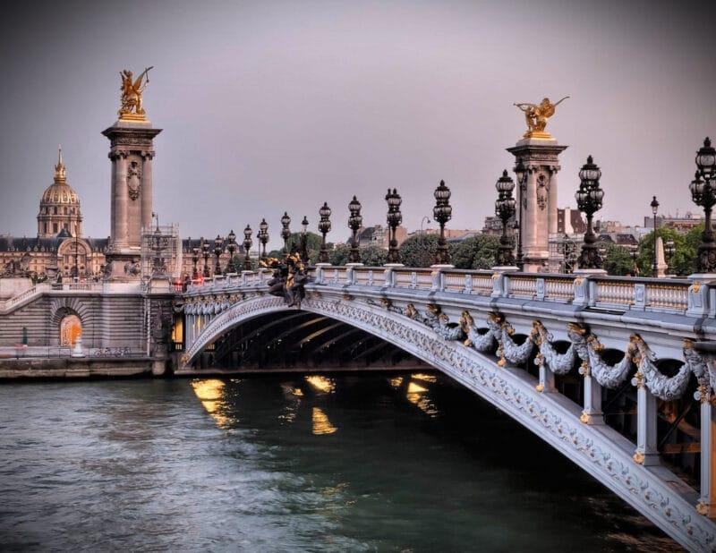 Pont Alexander bridge Paris