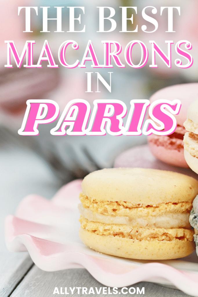 The Best Macarons in Paris - photo of pastel macaros
