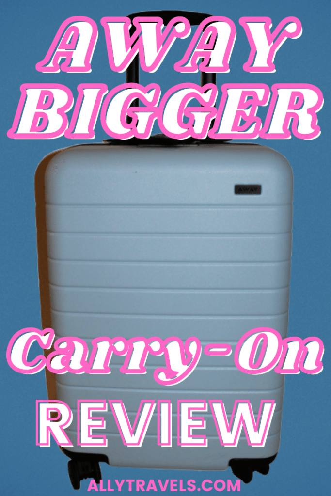 AWAY BIGGER CARRY-ON REVIEW PIN
