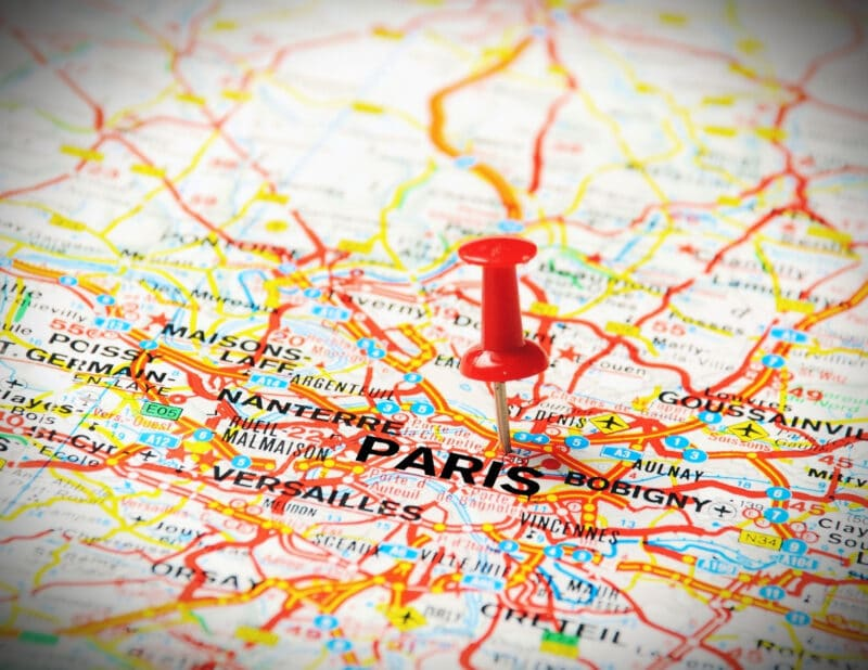 Paris Themed Gift Wrapping 2