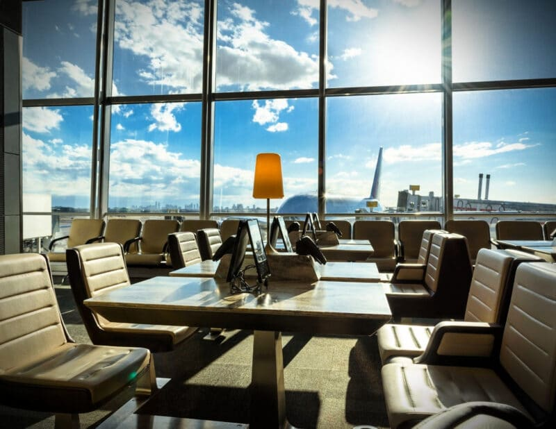airport vip lounge things to do on a long layover 2