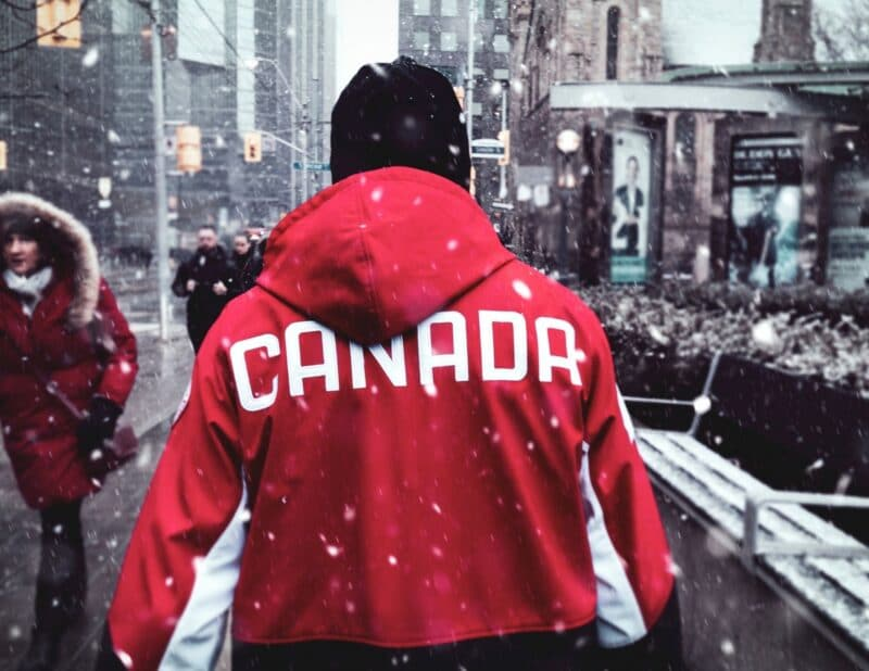 Canada themed clothing