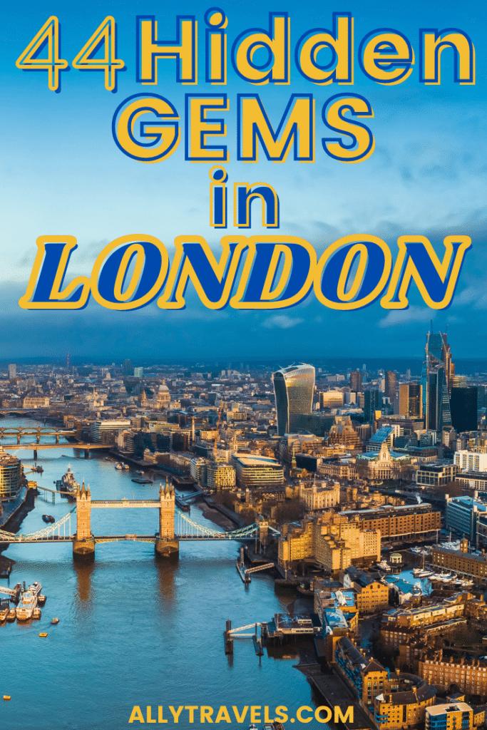Hidden Gems in London -London off thHidden Gems in London -London off the beaten path