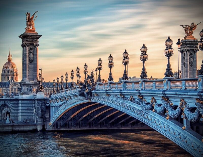 Alexandre III Bridge Paris France 2