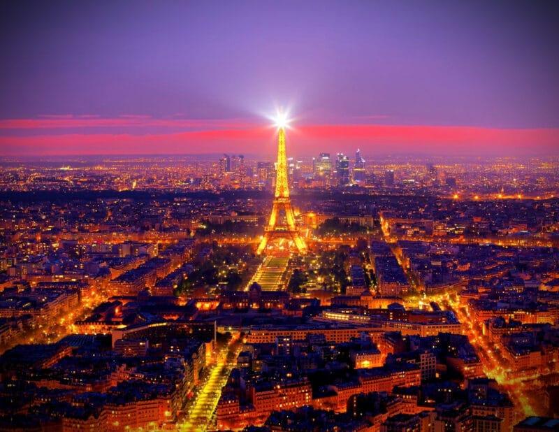 Eiffel Tower Paris France 2