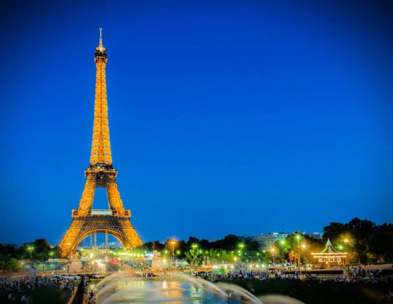 Eiffel Tower Paris France Paris 4 Day Itinerary 2