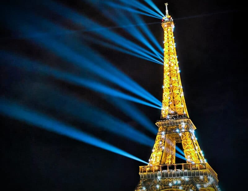 Eiffel Tower at Night 4 Days in Paris 2
