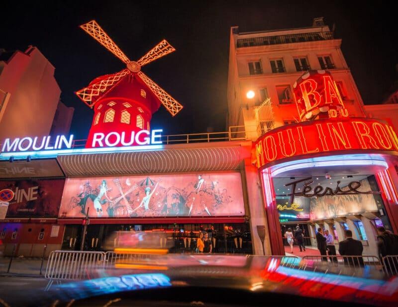 Moulin Rouge Paris. France 2
