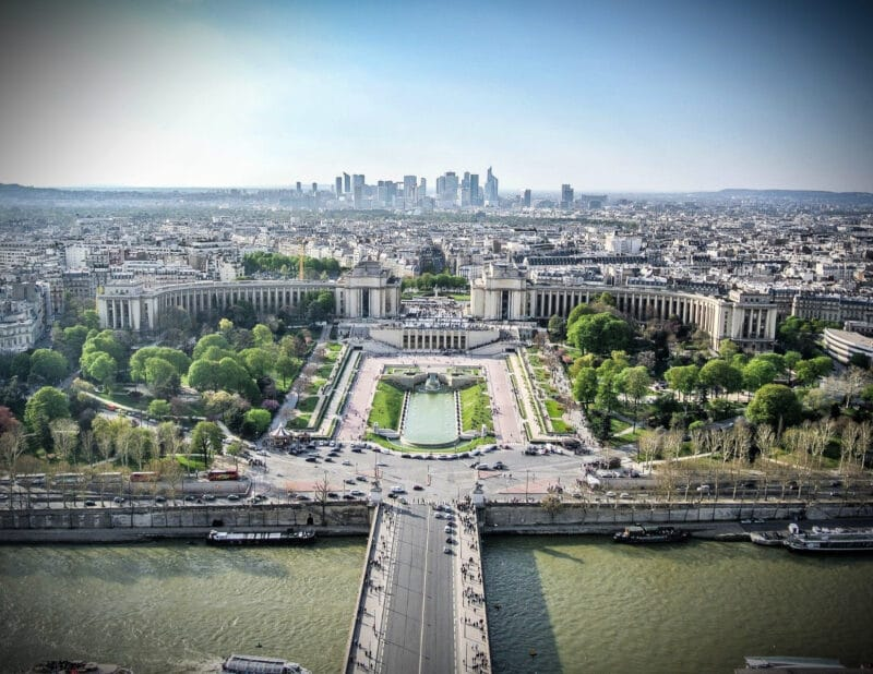 Paris 4 Day Itinerary Day Four France View From Eiffel Tower 2