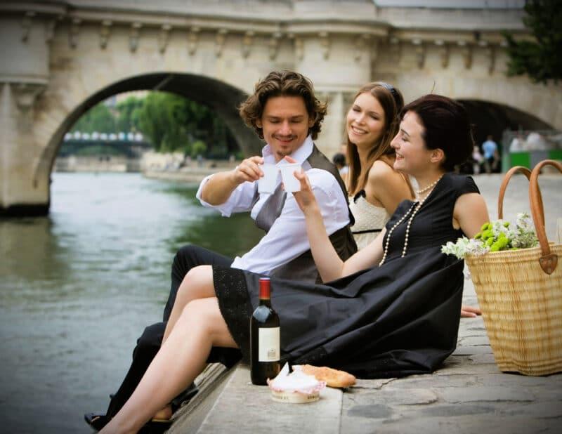 Picnic Along the Seine Paris France 2