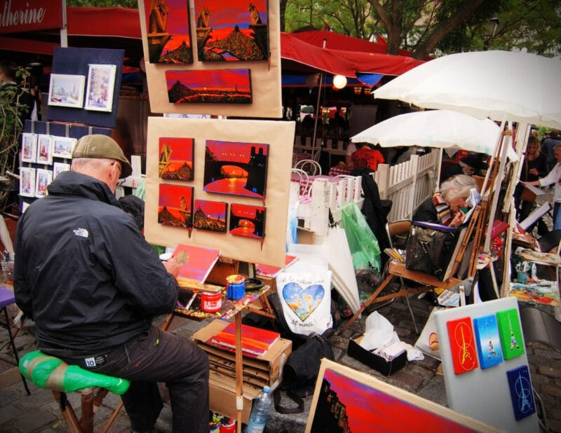 Place du Tertre Paris Day Two Itinerary 2