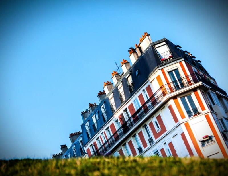 The Sinking House Montmartre Paris France 2